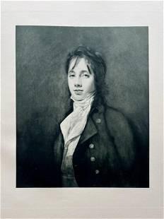 ETCHING AFTER SIR HENRY RAEBURN PORTRAIT WILLIAM FRASER