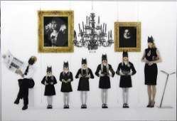 Gérard Rancinan (né en 1953) Batman Family girls, 2011