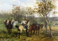 Jan Van Chelminski (Polish, 1851-1925)