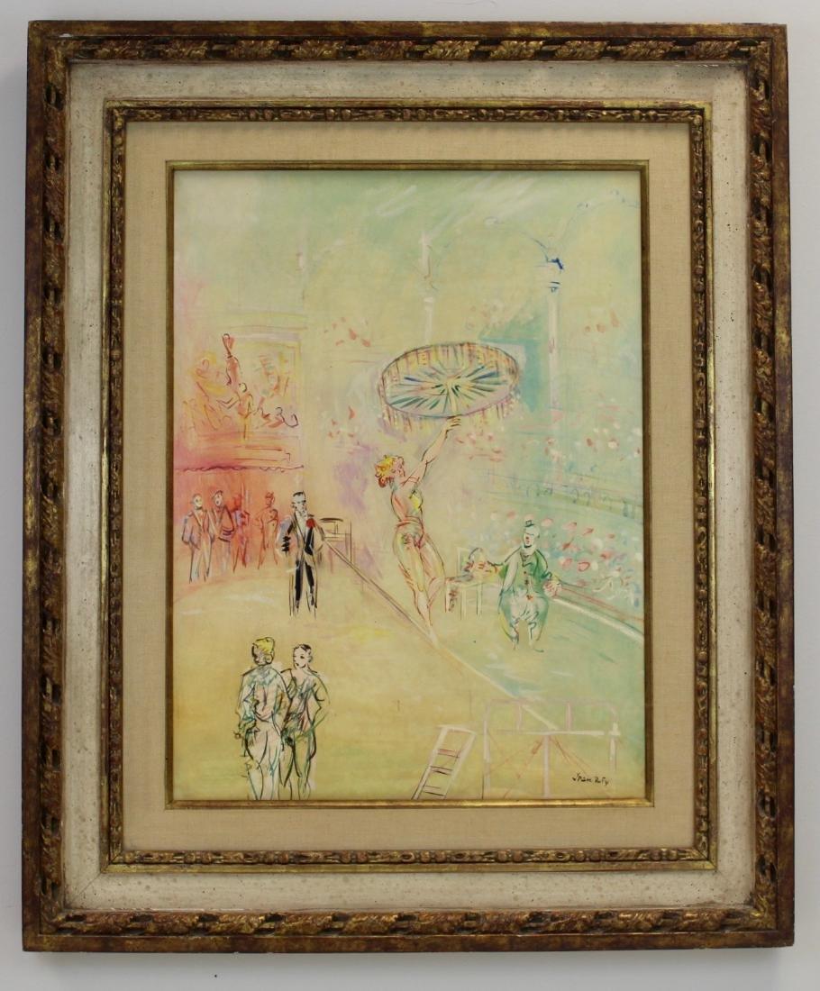 Jean Dufy (French, 1888-1964)  Fil-de-Fériste