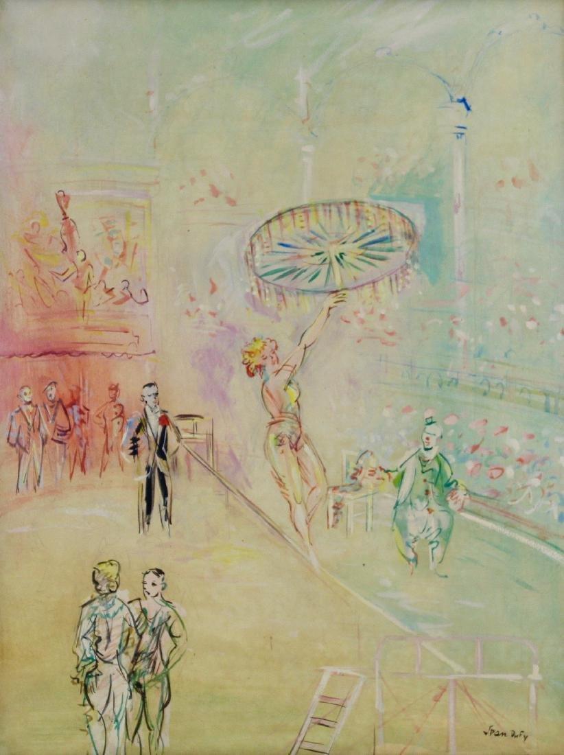 Jean Dufy (French, 1888-1964)  Fil-de-Fériste - 2