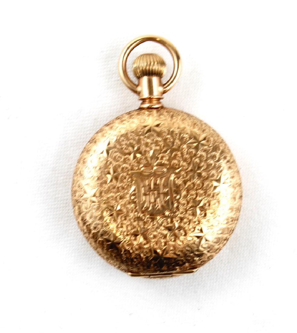 14K Gold Antique Women's Pocket Watch