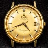 An 18 ct gold Omega constellation gentlemans