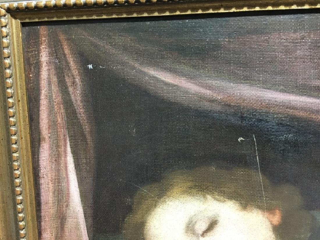 ITALIAN SCHOOL (18th/19th century)  Sleeping Putto Oil - 2