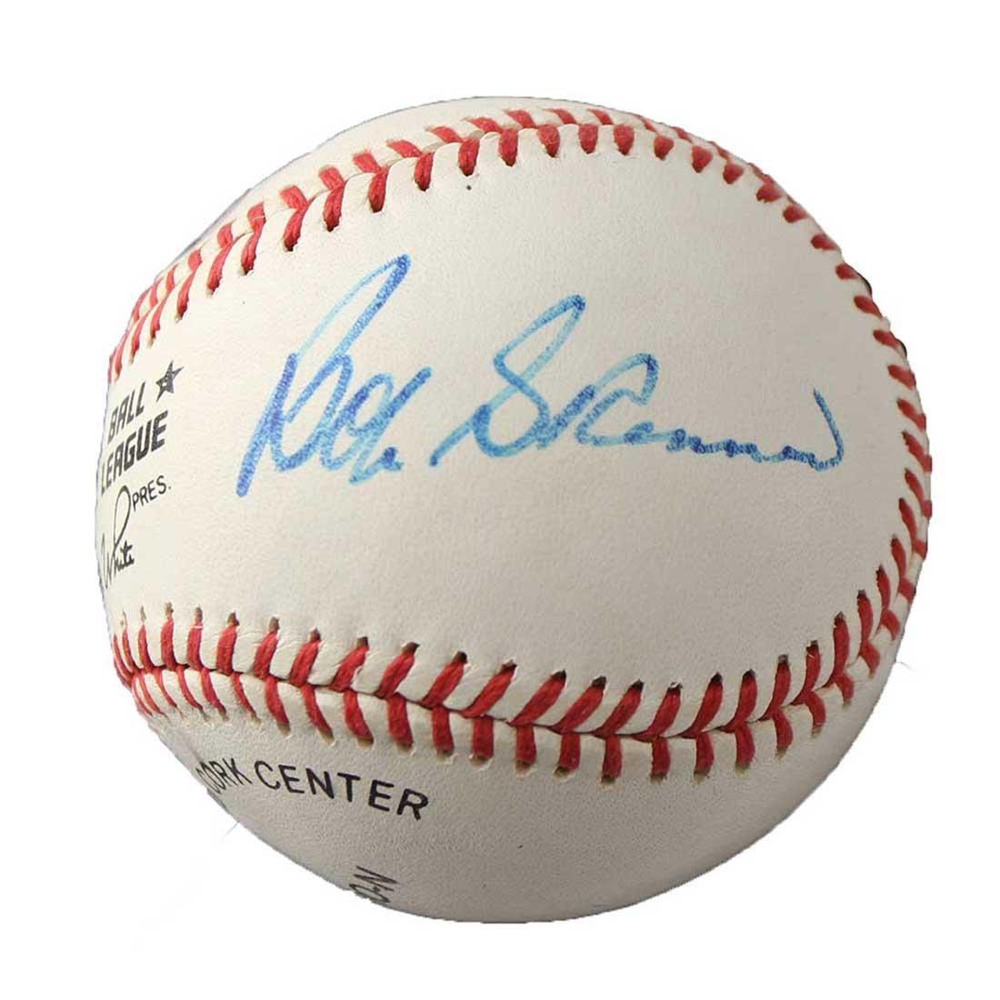 Bob Skinner Autographed Baseball