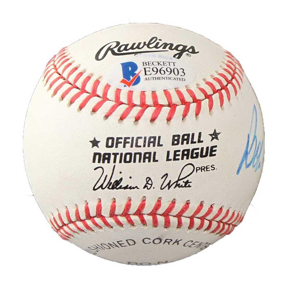 Bob Skinner Autographed Baseball - 2