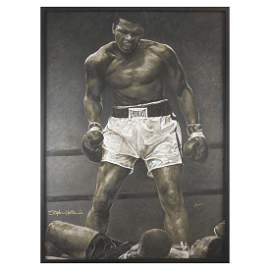 Muhammad Ali  Serigraph by Stephen Holland