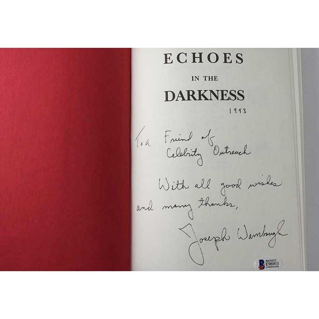 Joseph Wambaugh Autographed Book - 2