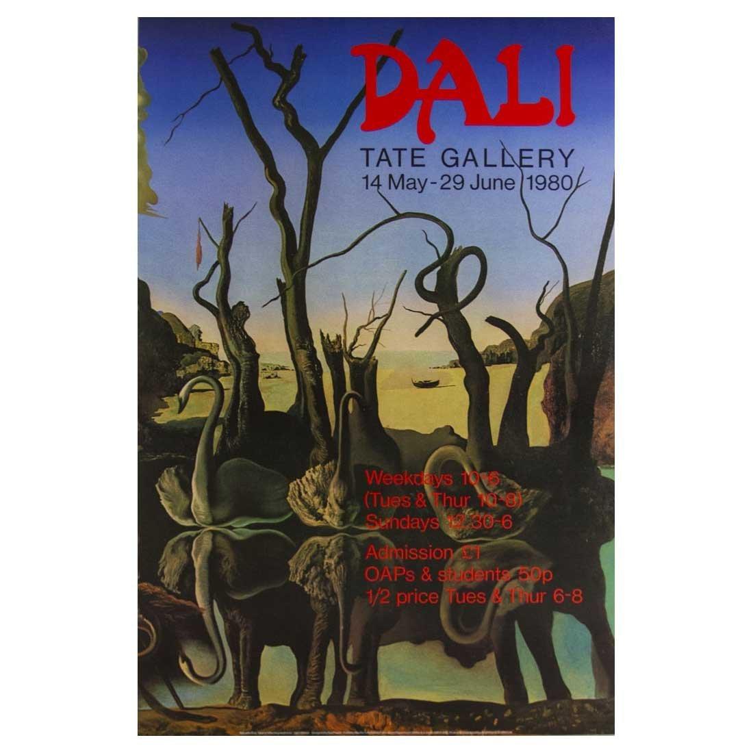 Salvador Dali - Poster - Tate Gallery