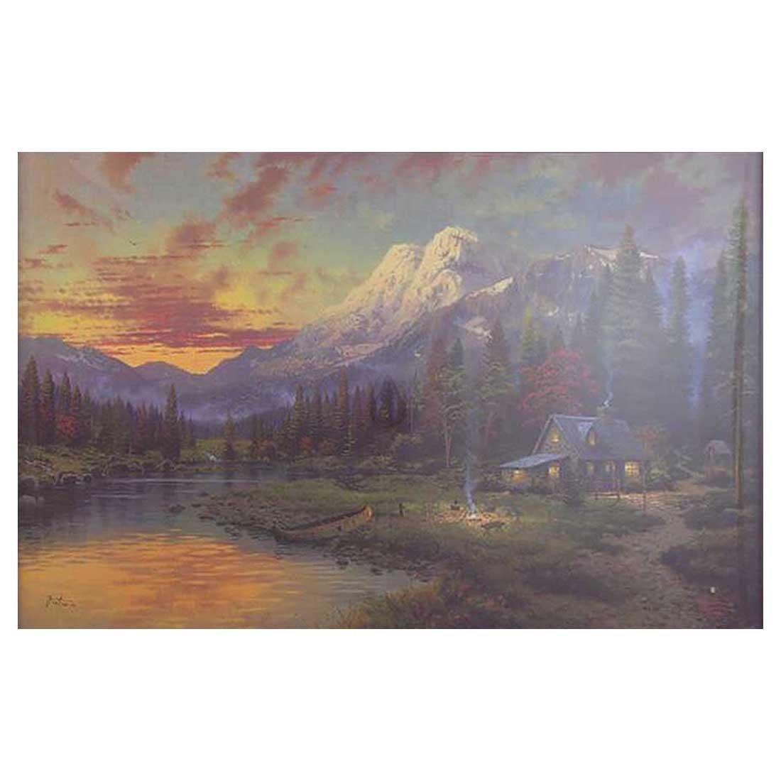 Thomas Kinkade - Sierra Evening Majesty