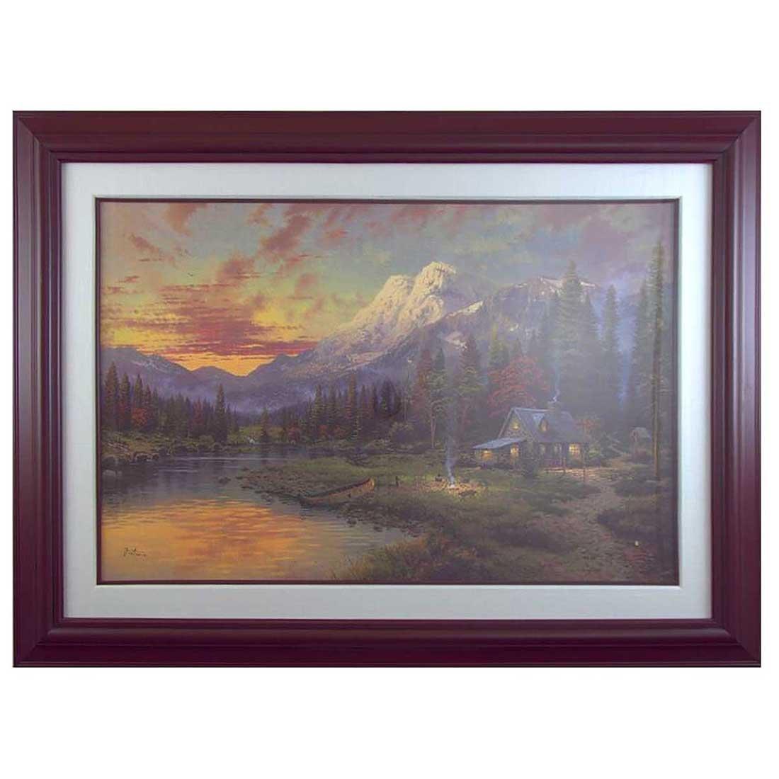 Thomas Kinkade - Sierra Evening Majesty - 2