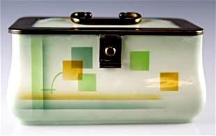 Mid-Century Modern Ceramic Trinket Box