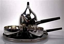 George Jensen Sterling Silver Tea Set
