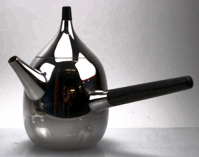 George Jensen Sterling Silver Tea Set - 3