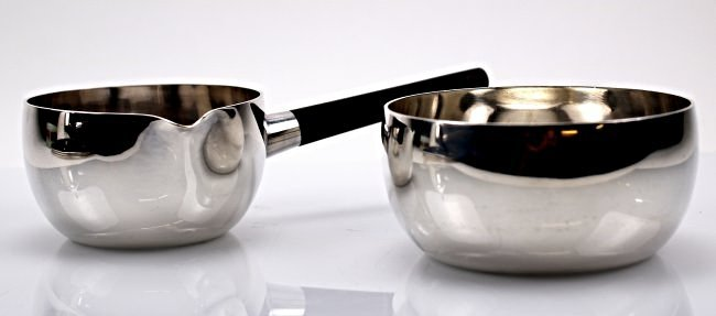 George Jensen Sterling Silver Tea Set - 4