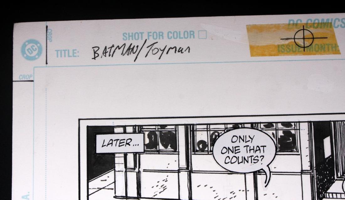 Anthony Williams Batman Toyman Original Comic Art - 2