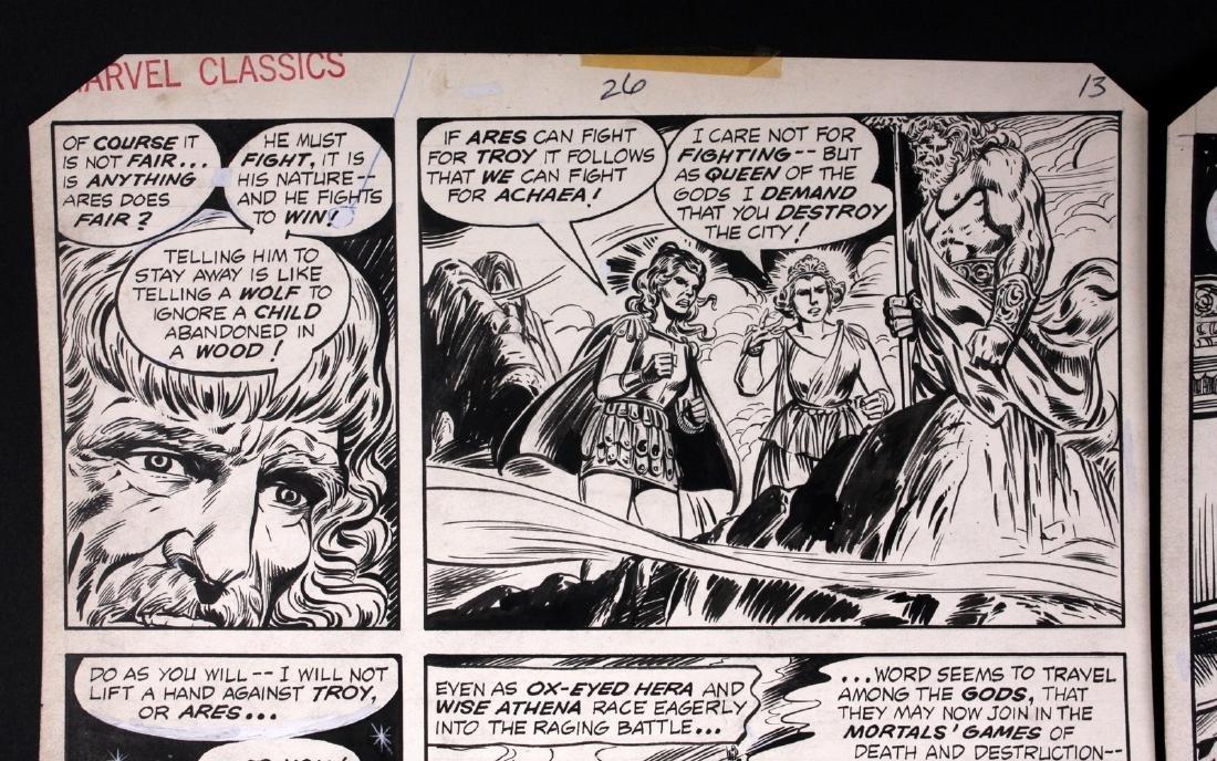 John Buscema The Iliad Original Comic Art - 2