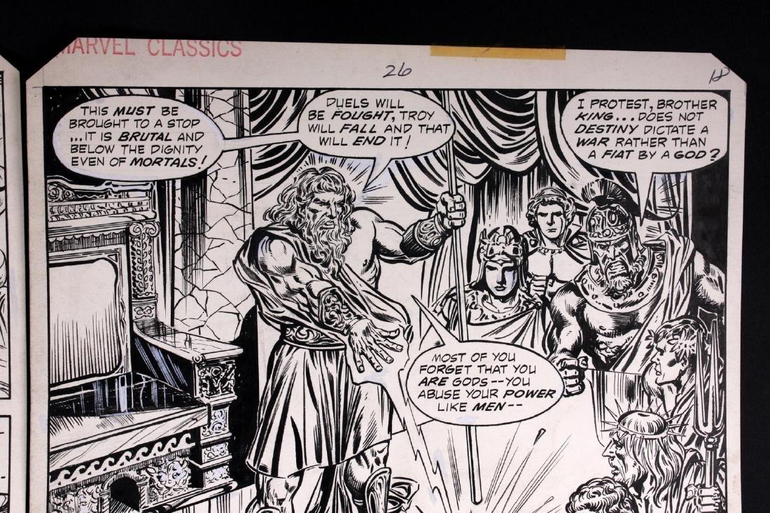 John Buscema The Iliad Original Comic Art - 3