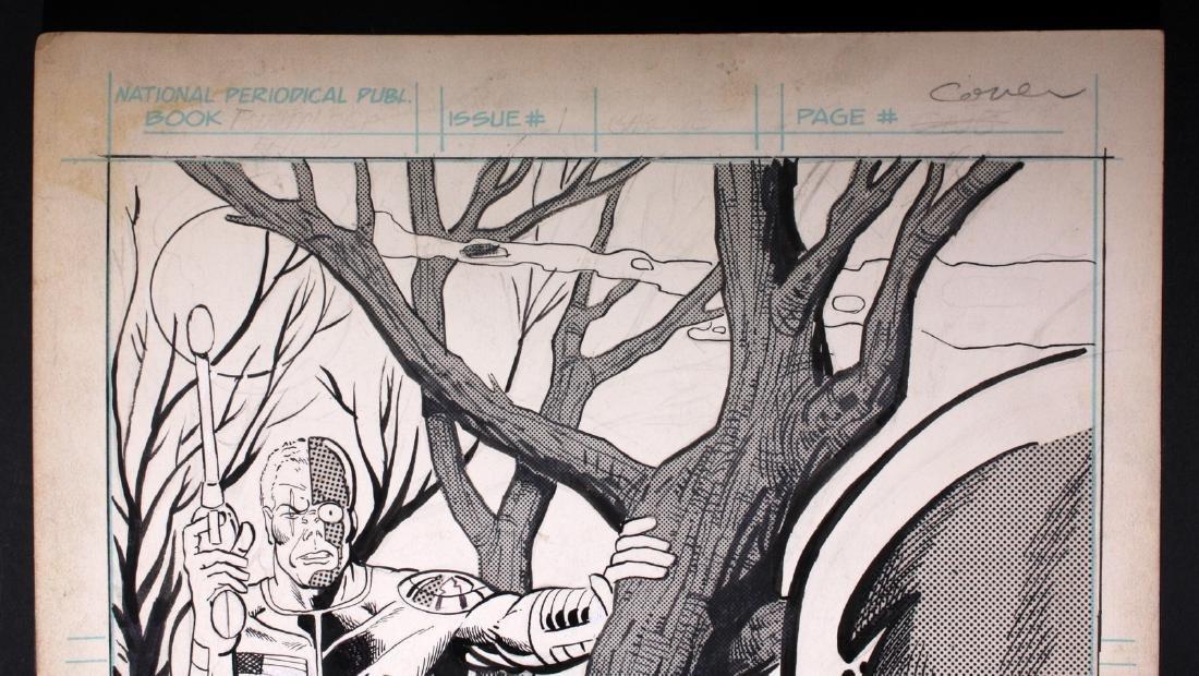 Al Gabriele Buckler Original Deathlok Comic Art - 3