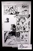 Sal Buscema Thunder Strike Original Comic Art