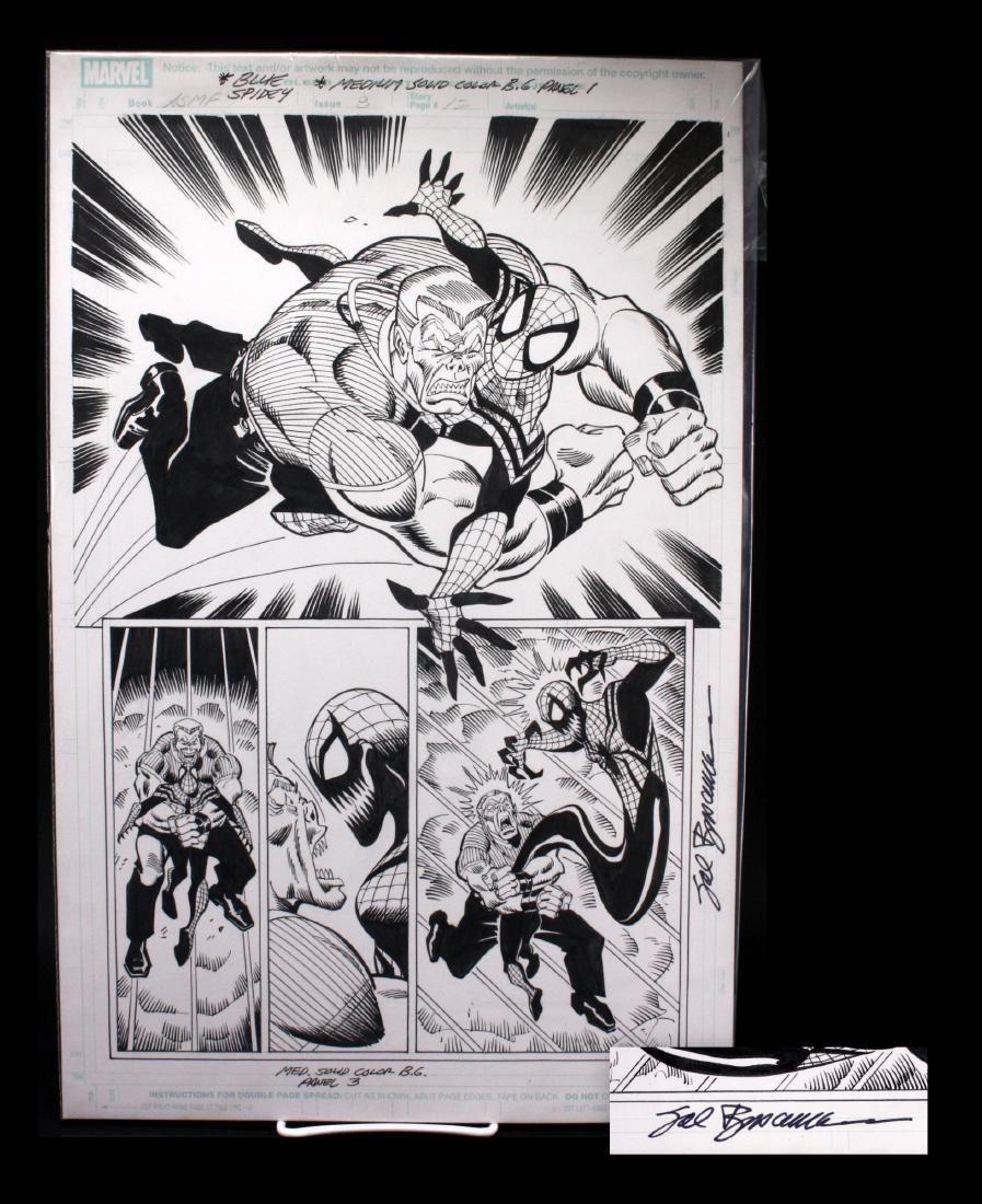 Sal Buscema Signed Spiderman Original Comic Art