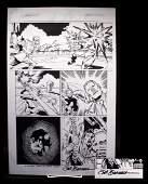 Sal Buscema Ironman Signed Original Comic Art