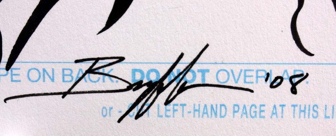Norm Breyfogle T-Bolts Signed Original Comic Art - 2