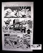 Sal Buscema Spiderman Signed Original Comic Art