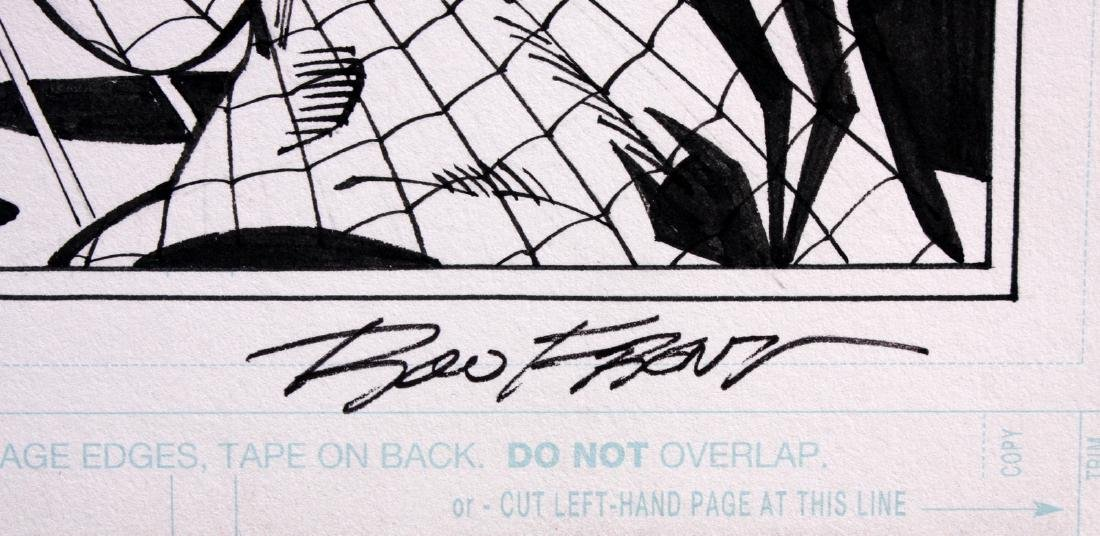 Sal Buscema Spiderman Signed Original Comic Art - 2