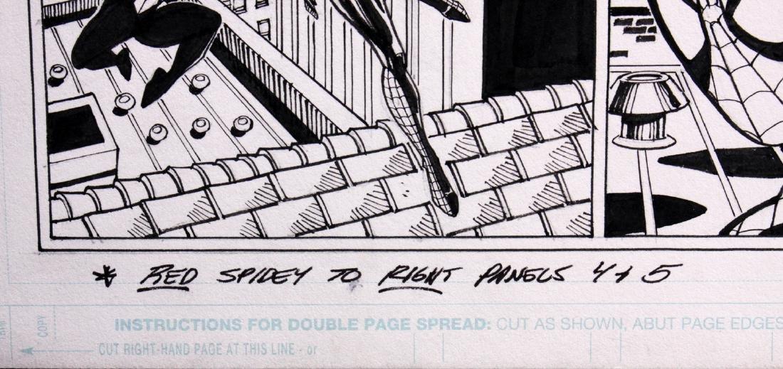 Sal Buscema Spiderman Signed Original Comic Art - 3