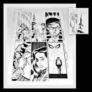 Sal Buscema Original Spider-Man Comic Book Art
