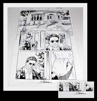 Scott Hanna Original Rookstorm Comic Book Art