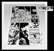 Sal Buscema Thunderstrike Original Comic Art