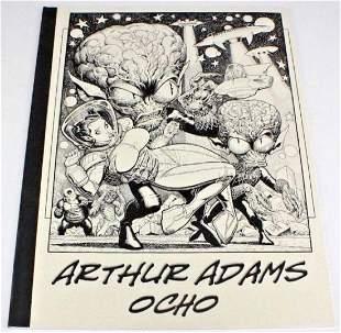Arthur Adams Signed Ocho Comic Illustration Book