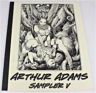Arthur Adams Signed Sampler V Comic Sketch Book