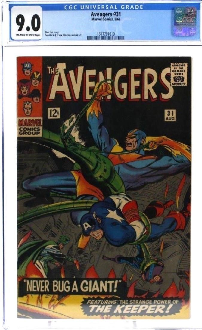 Avengers #31 CGC Graded Marvel Comic Book