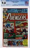 Avengers Annual #10 CGC Graded Marvel Comic Book