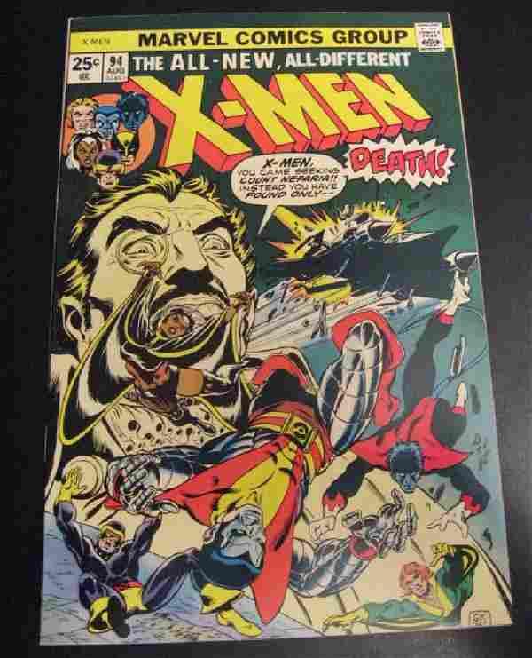 X-Men #94 (1st Series) Marvel Comic Book