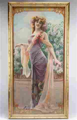 F. Champenois Illustration Art On Fabric,  Gaspar Camps