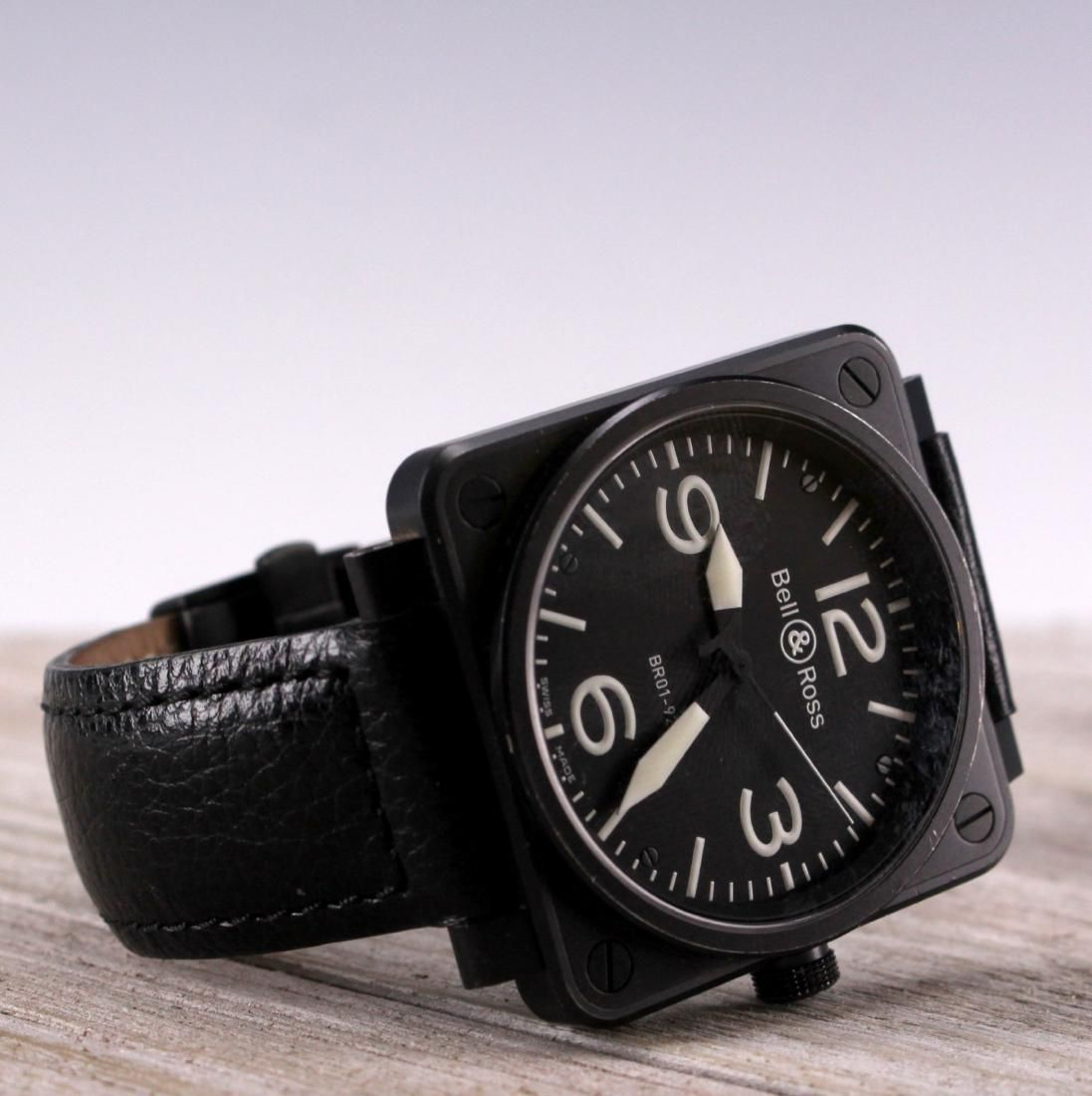 Bell & Ross Carbon Aviation Watch