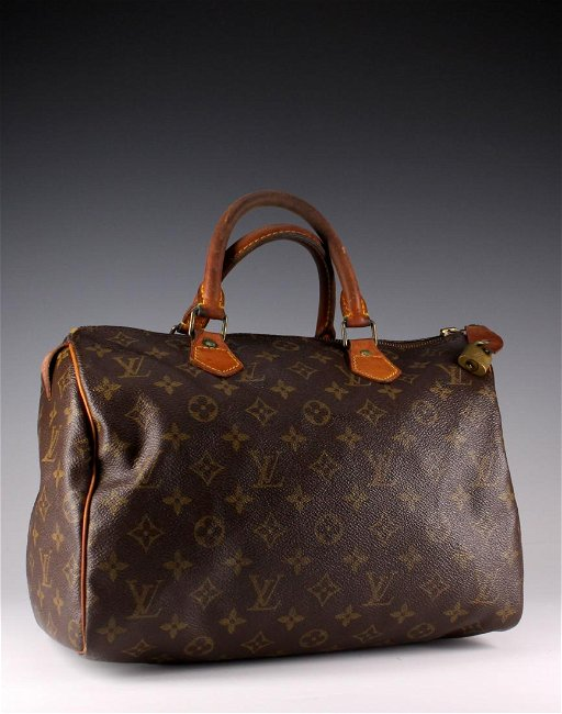 run shoes fashionable and attractive package a few days away Vintage Louis Vuitton Speedy 30 Bag - France