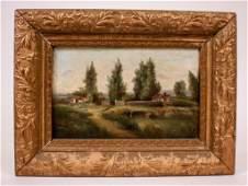 19th C. O/C American Landscape