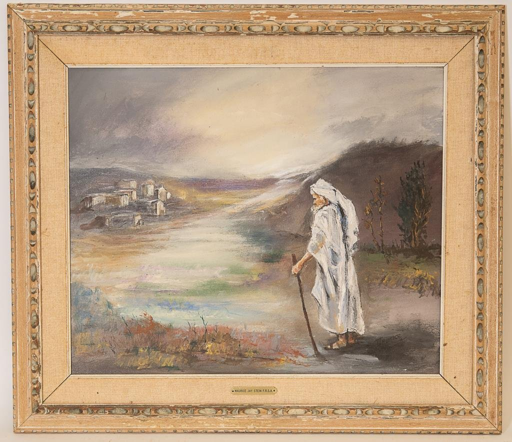 Maurice Jay Stein (Born 1898) Signed Oil