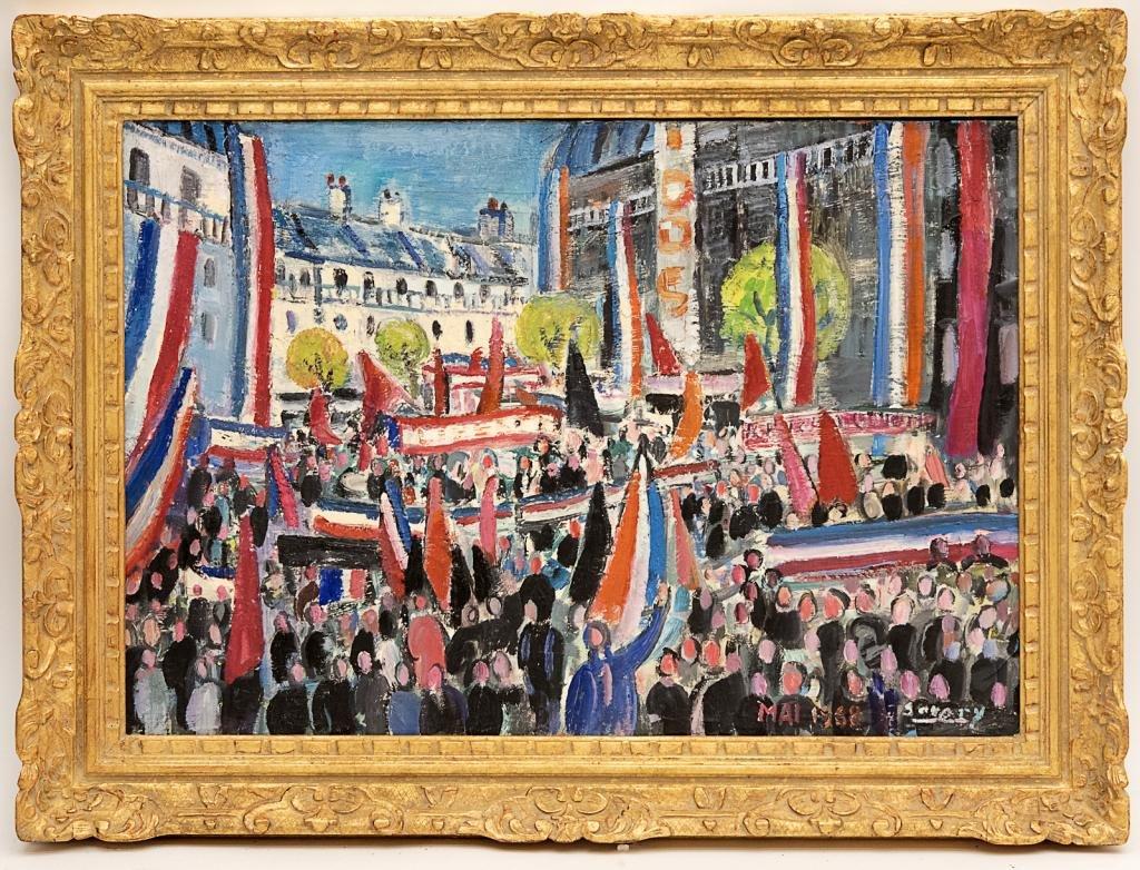 Robert Savary (1920 - 2000) Oil Painting