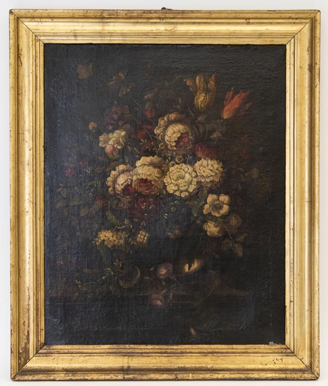 Signed Still Life Oil Painting