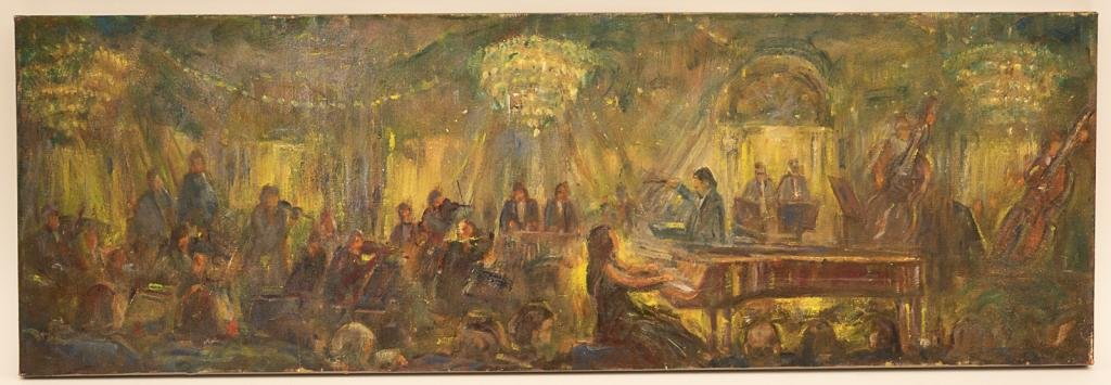 Hall Pierce Groat Sr (Born 1932) Oil Painting