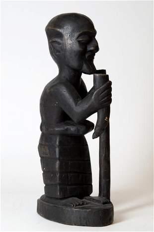Tribal Wood Carved Figure