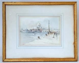 Francis Leke Born 1912 Landscape