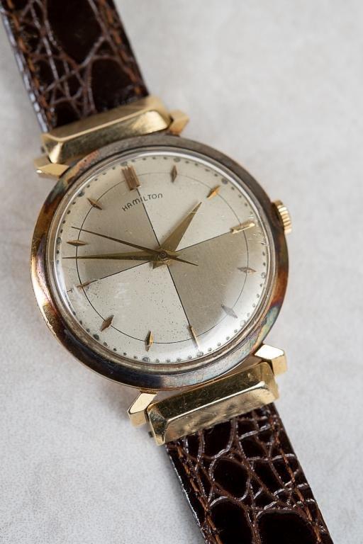 Vintage 14Kt Gold Hamilton 748 Wristwatch