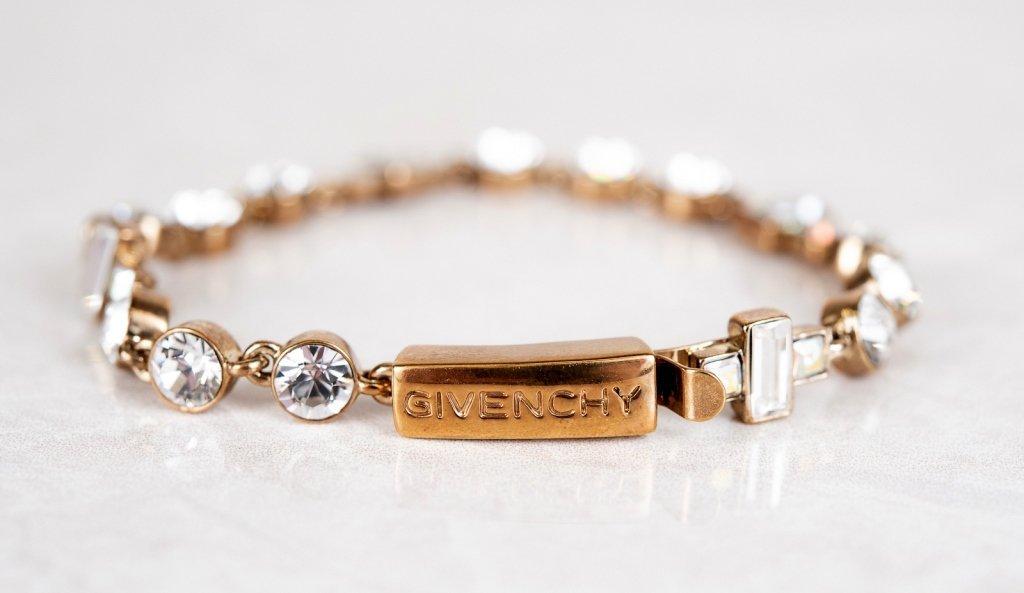 Vintage Givenchy Swarovski Crystal Tennis Bracelet